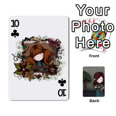 Gorjuss Playing Cards By Kellie Simpson   Playing Cards 54 Designs   Isyrn0on42ut   Www Artscow Com Front - Club10