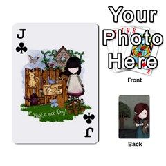 Jack Gorjuss Playing Cards By Kellie Simpson   Playing Cards 54 Designs   Isyrn0on42ut   Www Artscow Com Front - ClubJ
