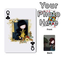 Queen Gorjuss Playing Cards By Kellie Simpson   Playing Cards 54 Designs   Isyrn0on42ut   Www Artscow Com Front - ClubQ