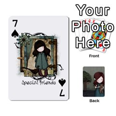 Gorjuss Playing Cards By Kellie Simpson   Playing Cards 54 Designs   Isyrn0on42ut   Www Artscow Com Front - Spade7