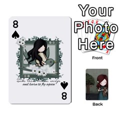 Gorjuss Playing Cards By Kellie Simpson   Playing Cards 54 Designs   Isyrn0on42ut   Www Artscow Com Front - Spade8