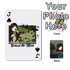 Jack Gorjuss Playing Cards By Kellie Simpson   Playing Cards 54 Designs   Isyrn0on42ut   Www Artscow Com Front - SpadeJ
