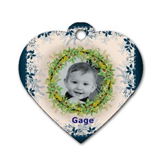 Moms Dogtag By Christy Fralin   Dog Tag Heart (two Sides)   Kqmv82lw9mw1   Www Artscow Com Back