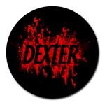 dexter - Round Mousepad