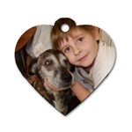 Me and my Girly! - Dog Tag Heart (One Side)