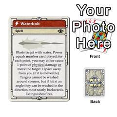 Wiz War Ii Deck 1 By T C   Playing Cards 54 Designs   U3lgxsyn0t51   Www Artscow Com Front - Diamond10