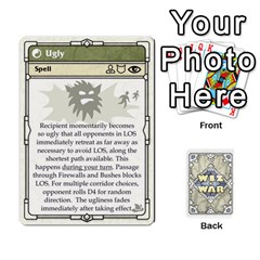 Wiz War Ii Deck 2 By T C   Playing Cards 54 Designs   Zrptp1zryb66   Www Artscow Com Front - Diamond6