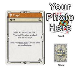 Ace Wiz War Ii Deck 2 By T C   Playing Cards 54 Designs   Zrptp1zryb66   Www Artscow Com Front - DiamondA