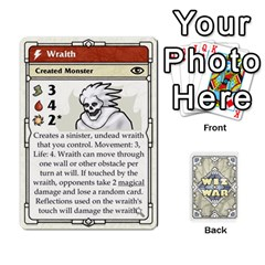 Wiz War Ii Deck 3 By T C   Playing Cards 54 Designs   L0z97dwzoa7y   Www Artscow Com Front - Spade5