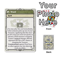 Wiz War Ii Deck 3 By T C   Playing Cards 54 Designs   L0z97dwzoa7y   Www Artscow Com Front - Diamond10