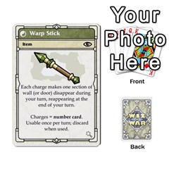 Jack Wiz War Ii Deck 3 By T C   Playing Cards 54 Designs   L0z97dwzoa7y   Www Artscow Com Front - DiamondJ