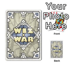 Wiz War Ii Deck 3 By T C   Playing Cards 54 Designs   L0z97dwzoa7y   Www Artscow Com Back
