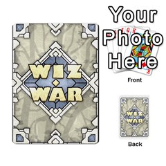 Queen Wiz War Ii Deck 4 By T C   Playing Cards 54 Designs   Lu3q1f45bcl5   Www Artscow Com Front - DiamondQ