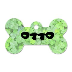 Otto Name Tag By Sunny   Dog Tag Bone (two Sides)   Vd7ceddu4whu   Www Artscow Com Front