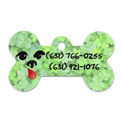 Otto Name Tag By Sunny   Dog Tag Bone (two Sides)   Vd7ceddu4whu   Www Artscow Com Back