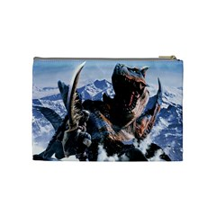 Monster Hunter  By Hollie   Cosmetic Bag (medium)   F57dt8yxhukr   Www Artscow Com Back