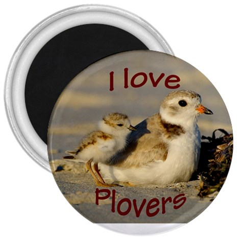 Love Plovers By Lindsay   3  Magnet   Mm341ncxs2ot   Www Artscow Com Front