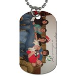Mom of Five - Dog Tag (Two Sides)