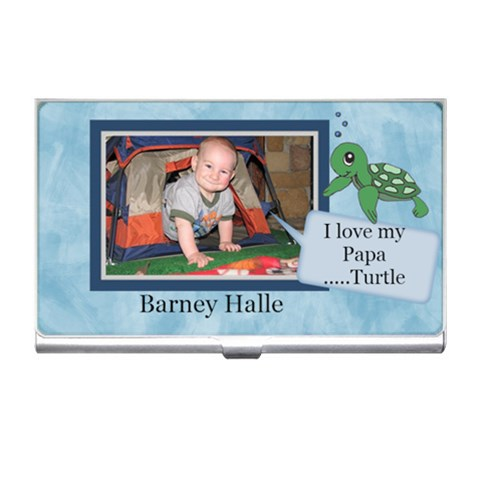 Barneybusiness Card By Amarilloyankee   Business Card Holder   61gomcm33510   Www Artscow Com Front