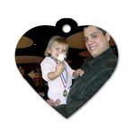 First Recital - Dog Tag Heart (One Side)