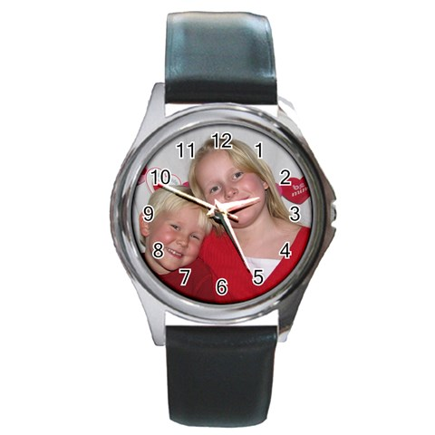 By Eden Gay   Round Metal Watch   53svrh62ulrz   Www Artscow Com Front