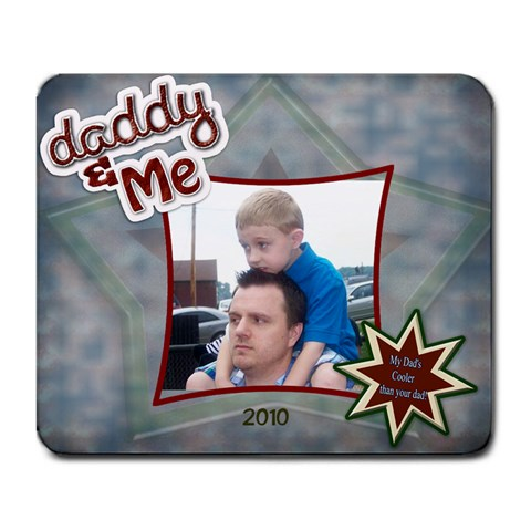 Dads Mousepad By Millie Kovatch   Large Mousepad   3k3zhfgd7ns5   Www Artscow Com Front