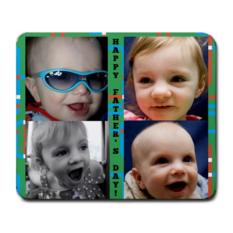 Father s Day By Amanda Anastasoff   Collage Mousepad   Ymt8efahqdk3   Www Artscow Com 9.25 x7.75 Mousepad - 1