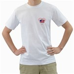 Men s T-Shirt (White) (Two Sided)