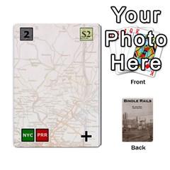 Baub s Bindle Rails By Bob Menzel   Playing Cards 54 Designs   Soe62u086o6w   Www Artscow Com Front - Diamond8