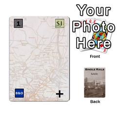 Ace Baub s Bindle Rails By Bob Menzel   Playing Cards 54 Designs   Soe62u086o6w   Www Artscow Com Front - DiamondA