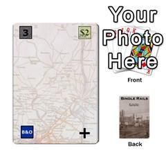 Baub s Bindle Rails By Bob Menzel   Playing Cards 54 Designs   Soe62u086o6w   Www Artscow Com Front - Club5