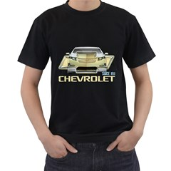 Chevrolet Black T-Shirt (Two Sides) by iindrainiB