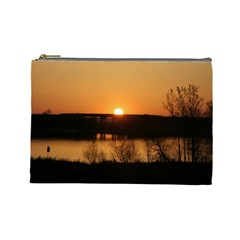Sunrise Large Cosmetic Bag By Jennifer Sneed   Cosmetic Bag (large)   1g30ool73ylo   Www Artscow Com Front