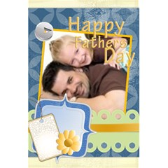 Father s Gift Notebook By Joely   5 5  X 8 5  Notebook   Cr8qnhmh5auv   Www Artscow Com Back Cover