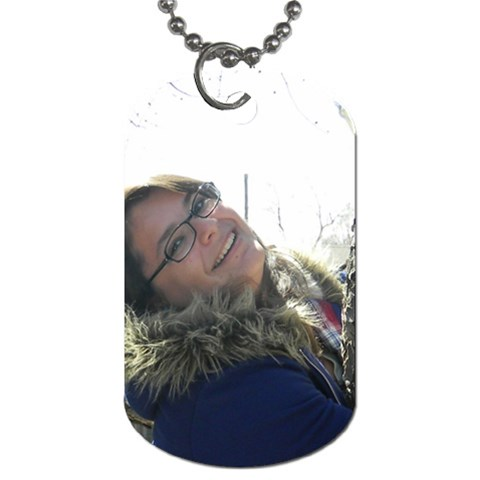Mo s Dog Tags By Lysa Stevens   Dog Tag (one Side)   Xcmpd7v8xxwb   Www Artscow Com Front