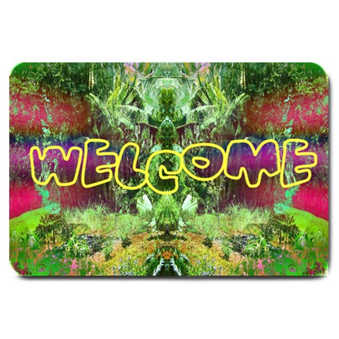 Welcome By Syonix   Large Doormat   S0hzdvshi6jh   Www Artscow Com 30 x20 Door Mat - 1