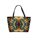 fractal-art square 01 Classic Shoulder Handbag