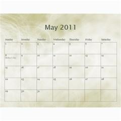 Personal Calendar By Asha Vigilante   Wall Calendar 11  X 8 5  (18 Months)   Fjd24prhuuge   Www Artscow Com May 2011