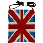 gb flag - Shoulder Sling Bag
