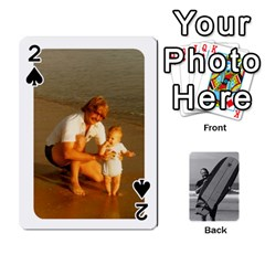 Father s Day By Kristen   Playing Cards 54 Designs   6vw540blpqe8   Www Artscow Com Front - Spade2