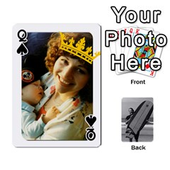 Queen Father s Day By Kristen   Playing Cards 54 Designs   6vw540blpqe8   Www Artscow Com Front - SpadeQ
