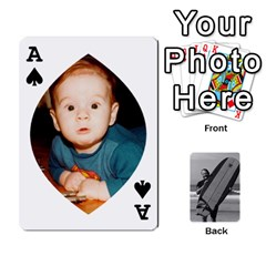 Ace Father s Day By Kristen   Playing Cards 54 Designs   6vw540blpqe8   Www Artscow Com Front - SpadeA