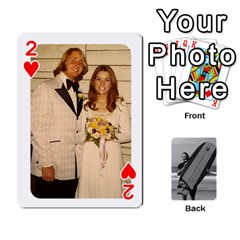 Father s Day By Kristen   Playing Cards 54 Designs   6vw540blpqe8   Www Artscow Com Front - Heart2