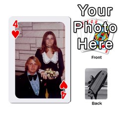 Father s Day By Kristen   Playing Cards 54 Designs   6vw540blpqe8   Www Artscow Com Front - Heart4