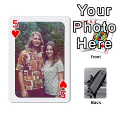 Father s Day By Kristen   Playing Cards 54 Designs   6vw540blpqe8   Www Artscow Com Front - Heart5