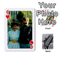 Father s Day By Kristen   Playing Cards 54 Designs   6vw540blpqe8   Www Artscow Com Front - Heart6