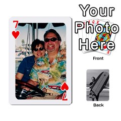Father s Day By Kristen   Playing Cards 54 Designs   6vw540blpqe8   Www Artscow Com Front - Heart7