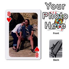 Father s Day By Kristen   Playing Cards 54 Designs   6vw540blpqe8   Www Artscow Com Front - Heart8
