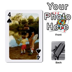 Father s Day By Kristen   Playing Cards 54 Designs   6vw540blpqe8   Www Artscow Com Front - Spade4