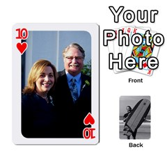 Father s Day By Kristen   Playing Cards 54 Designs   6vw540blpqe8   Www Artscow Com Front - Heart10